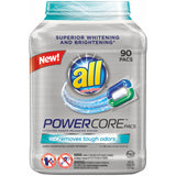all PowerCore Detergent Pacs