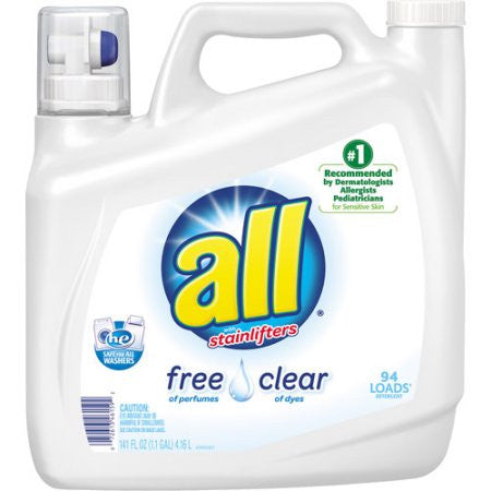 all Free and Clear Liquid Detergent