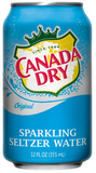 Canada Dry Seltzer Cans