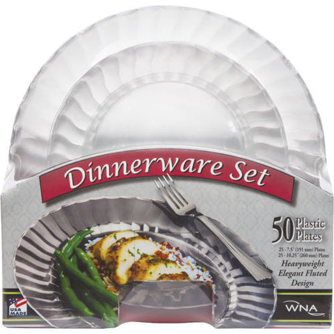 ClassicWare Dinner and Appetizer Plates