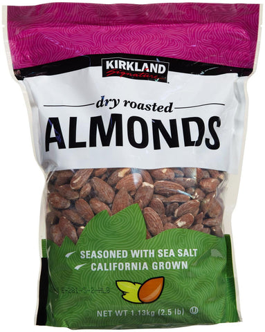 Kirkland Dry Roasted Almonds