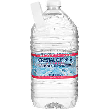 Crystal Geyser 1 Gallon Jugs