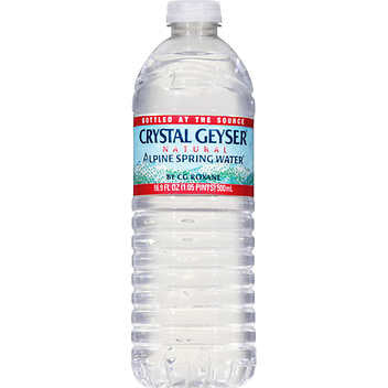 Crystal Geyser Water 16.9oz
