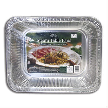 BJ's Brand Steam Table Pans - Half Size
