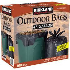 Kirkland Outdoor Bag - 45 Gallon