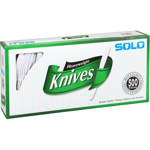 Solo White Heavyweight Knives