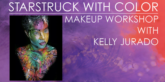 Get Starstruck with Color at our next Hands On Makeup Workshop!
