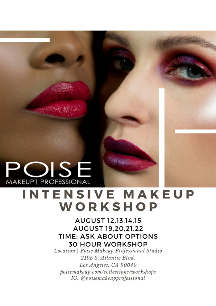 AUGUST MAKEUP WORKSHOP WITH PROFESSIONAL MAKEUP KIT