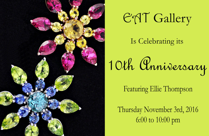 EAT Gallery Celebrates 10th Anniversary