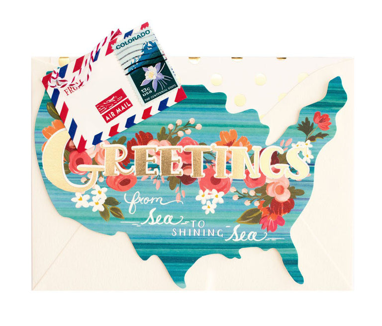Greetings from Kentucky - Greeting Card