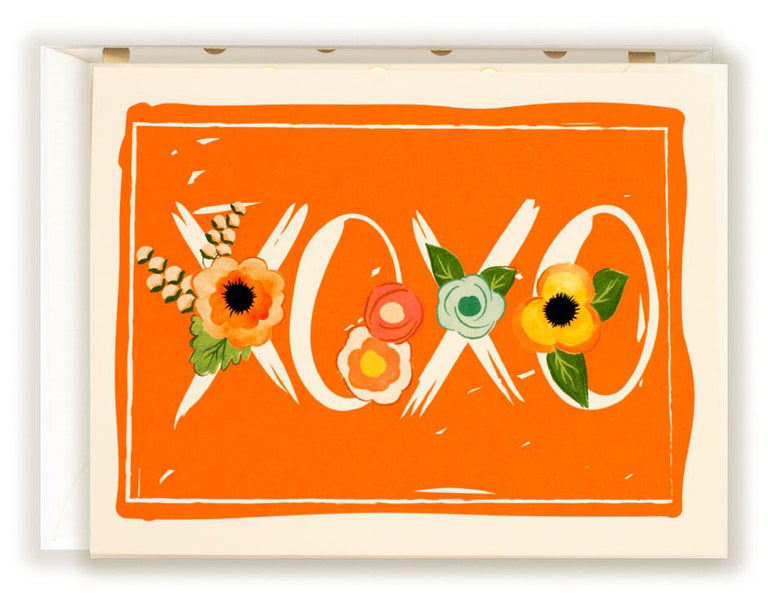 XOXO - Greeting Card