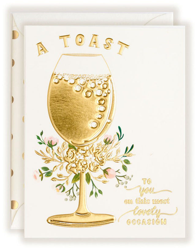 A Toast to You - Greeting Card