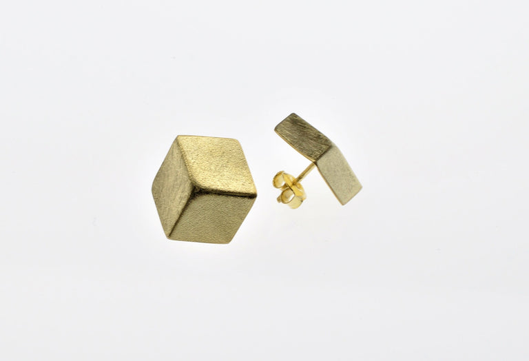 Small Cube Earrings