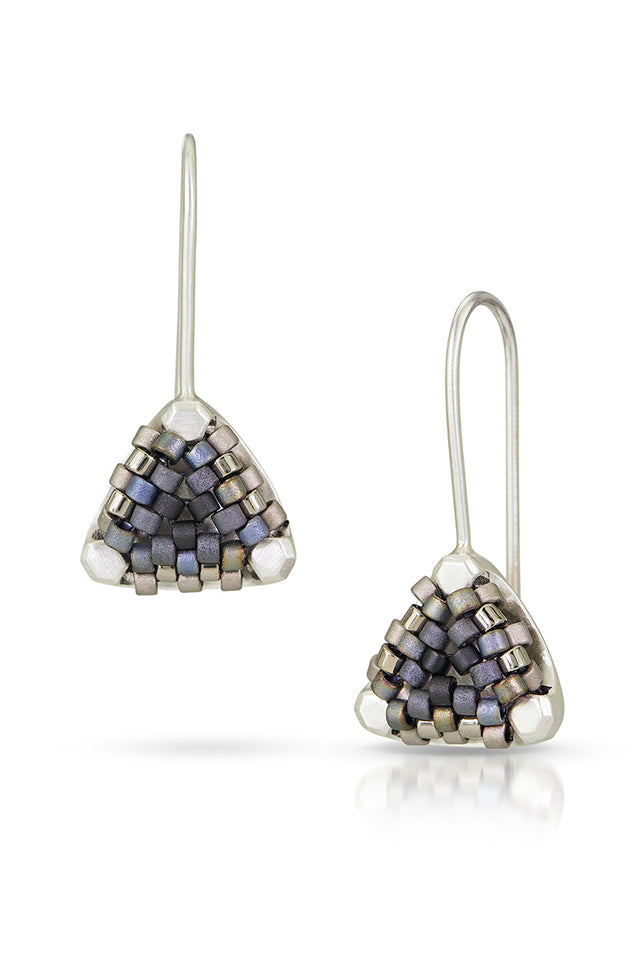 Drop Signature Beaded Earrings