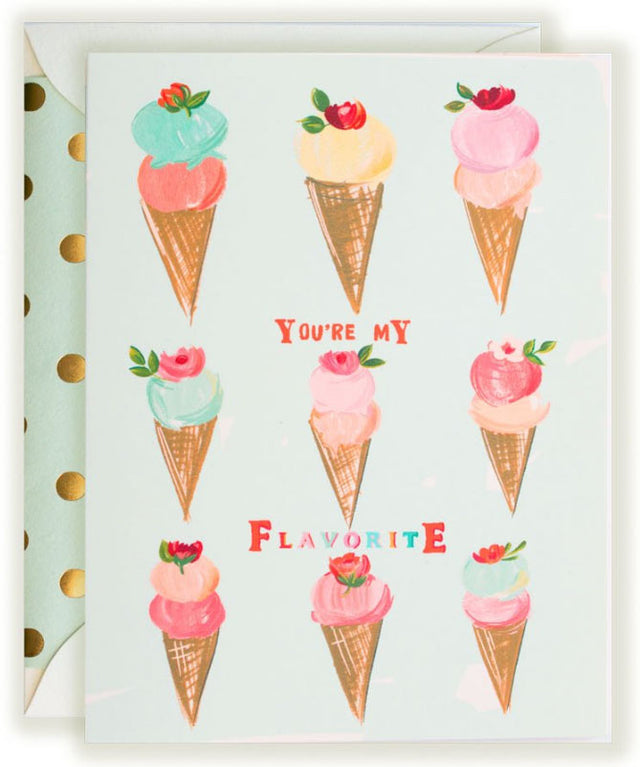 You're My Flavorite - Greeting Card