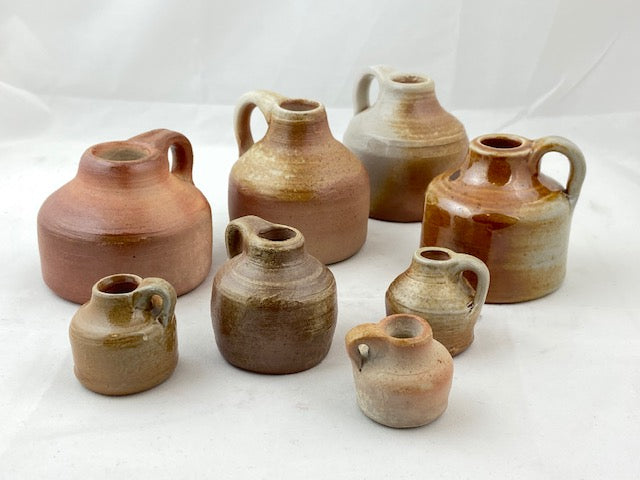 Wood Fired Mini Jugs