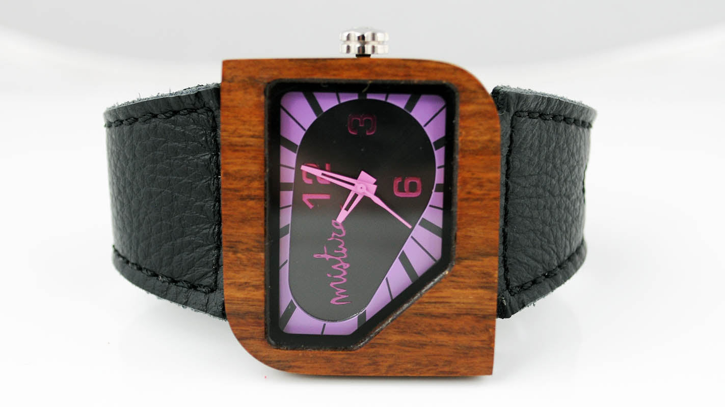 """PURPLE DIAL"" WATCH"