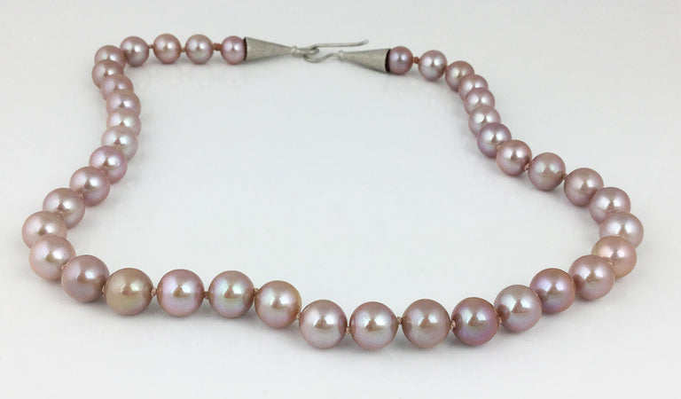 PURPLE/PINK NATURAL COLOR PEARLS