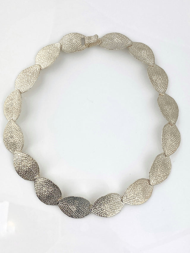 'Sterling Silver Leaf' Necklace