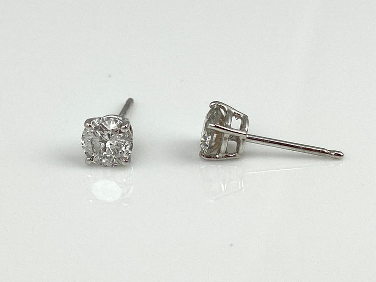 Diamond Studs 0.88CTW