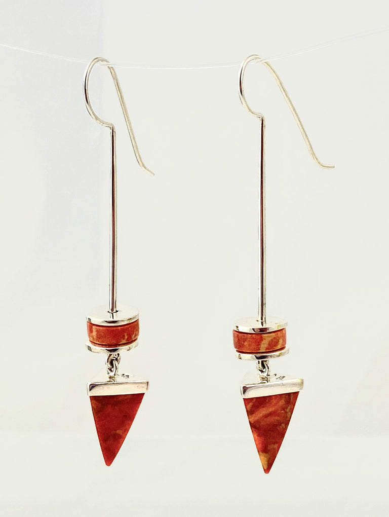 Sponge Coral Earrings