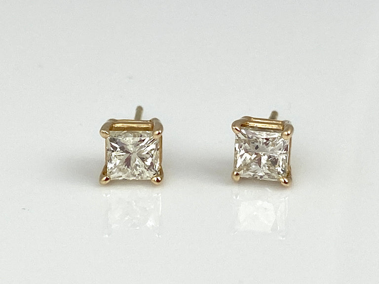 Diamond Studs 1.42CTW