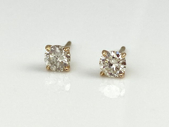 Diamond Studs 0.59CTW