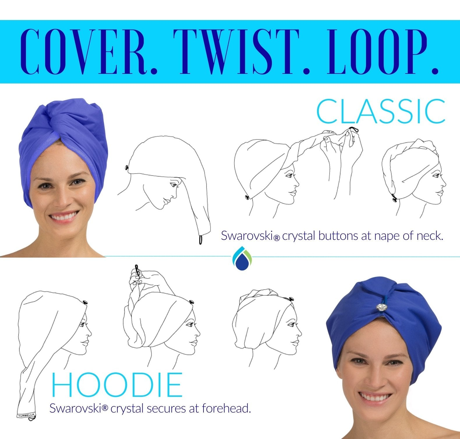 Details about  /Towel Water Absorbing Dry Hair Turban Hair Drying Towel Hair Dry Hat Shower Cap