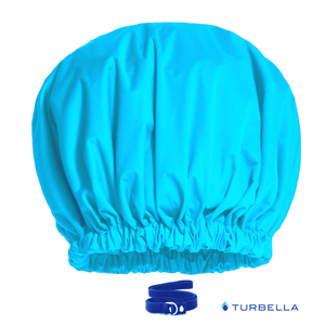 Adjustable shower caps no slip Superpower protect blow-out bar keeps hairstyle dry not frizzy from humidity