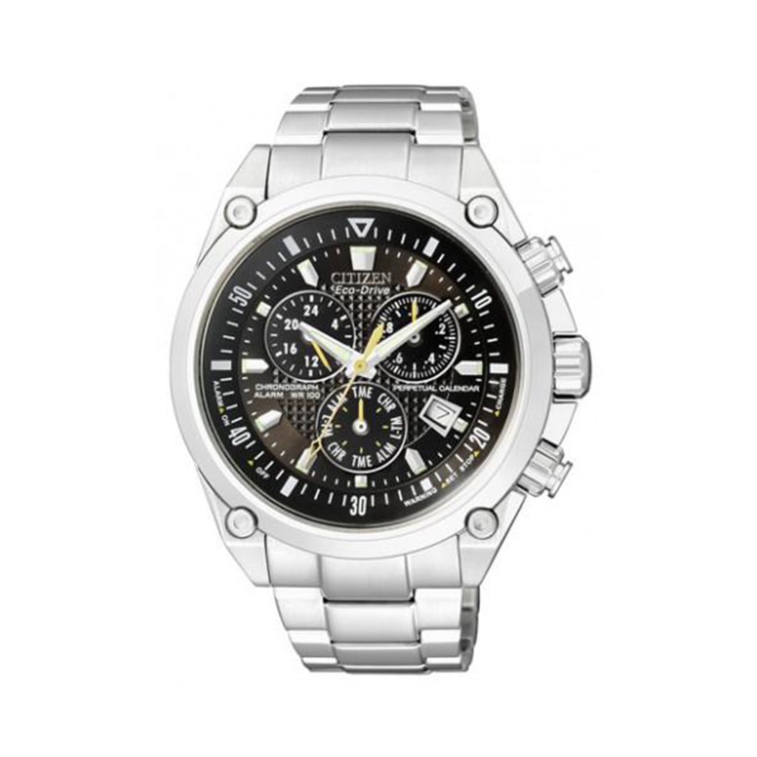 Citizen Men's BL5380-58E Eco-Drive Perpetual Calendar Chronograph Watch