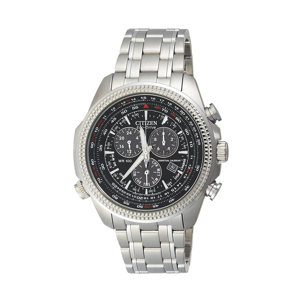 Citizen Men's BL5400-52E Eco-Drive Stainless Steel Sport Watch