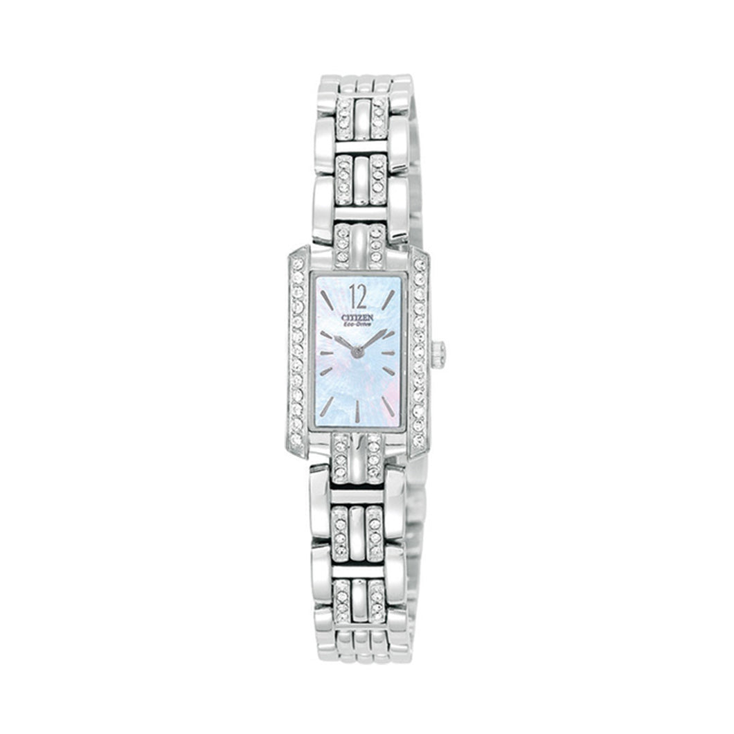 Citizen Women's EG2200-51N Eco-Drive Silhouette Swarovski Crystal Accented Watch