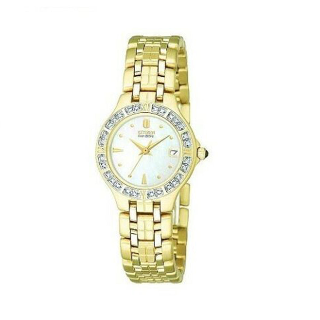 Citizen Women's EW0692-51D Eco-Drive Lucca Diamond Accented Watch