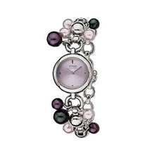 Load image into Gallery viewer, Citizen Women's EW9020-51W Eco-Drive Catena Crystal Pearl Watch