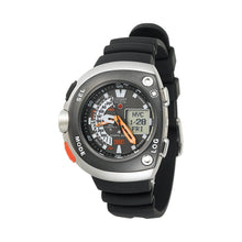 Load image into Gallery viewer, Citizen Men's JV0030-01E Eco-Drive 20th Anniversary Aqualand Black Imperial Dive Watch
