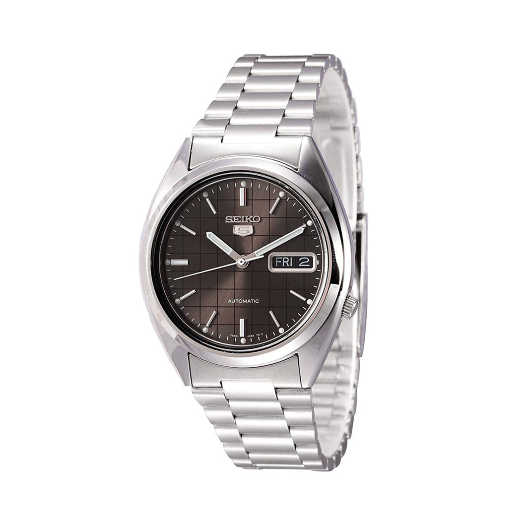 Seiko Men's SNXF07K Automatic Silver Stainless-Steel Automatic Watch