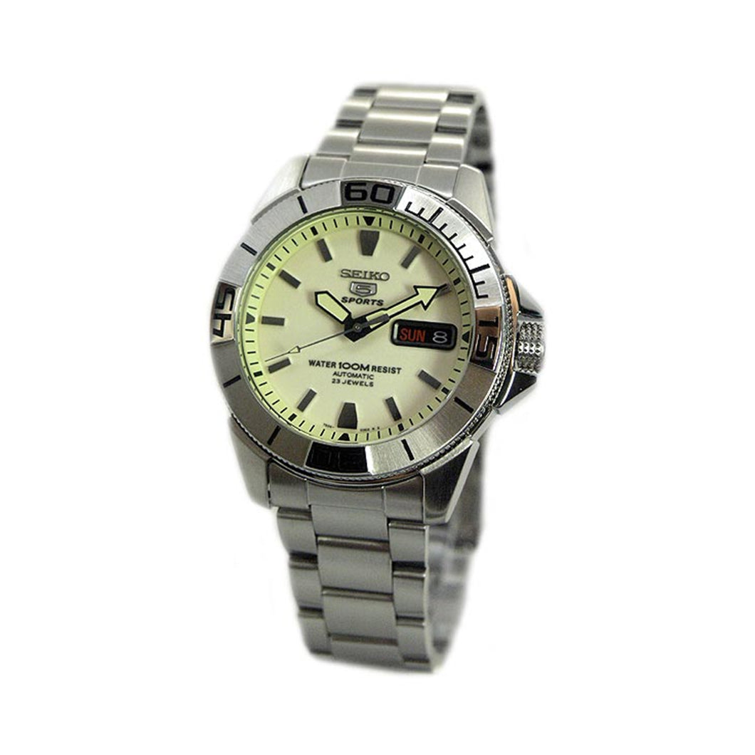 Seiko Men's SNZE17K1 Automatic Luminous Dial Watch
