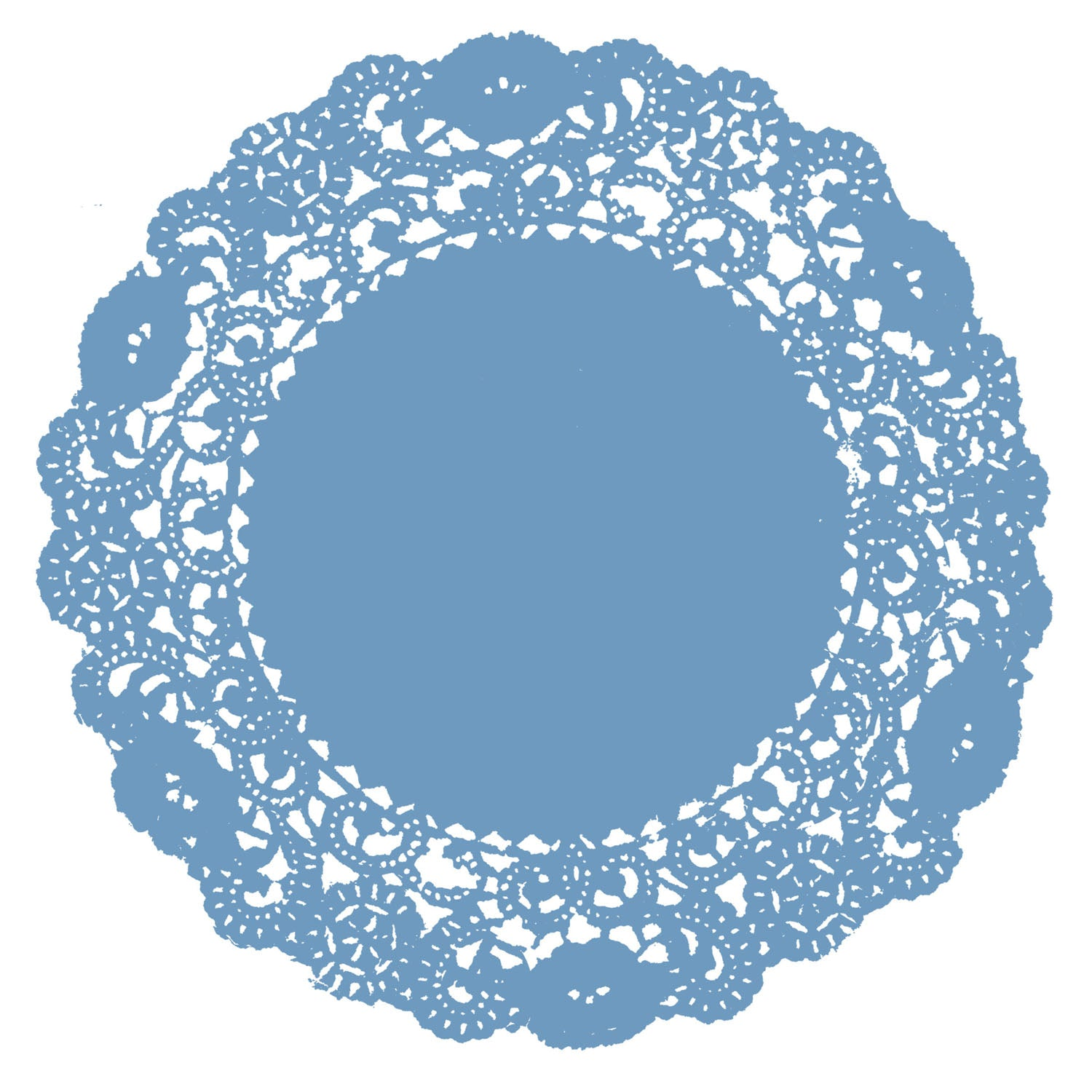 Windsor Blue Doily