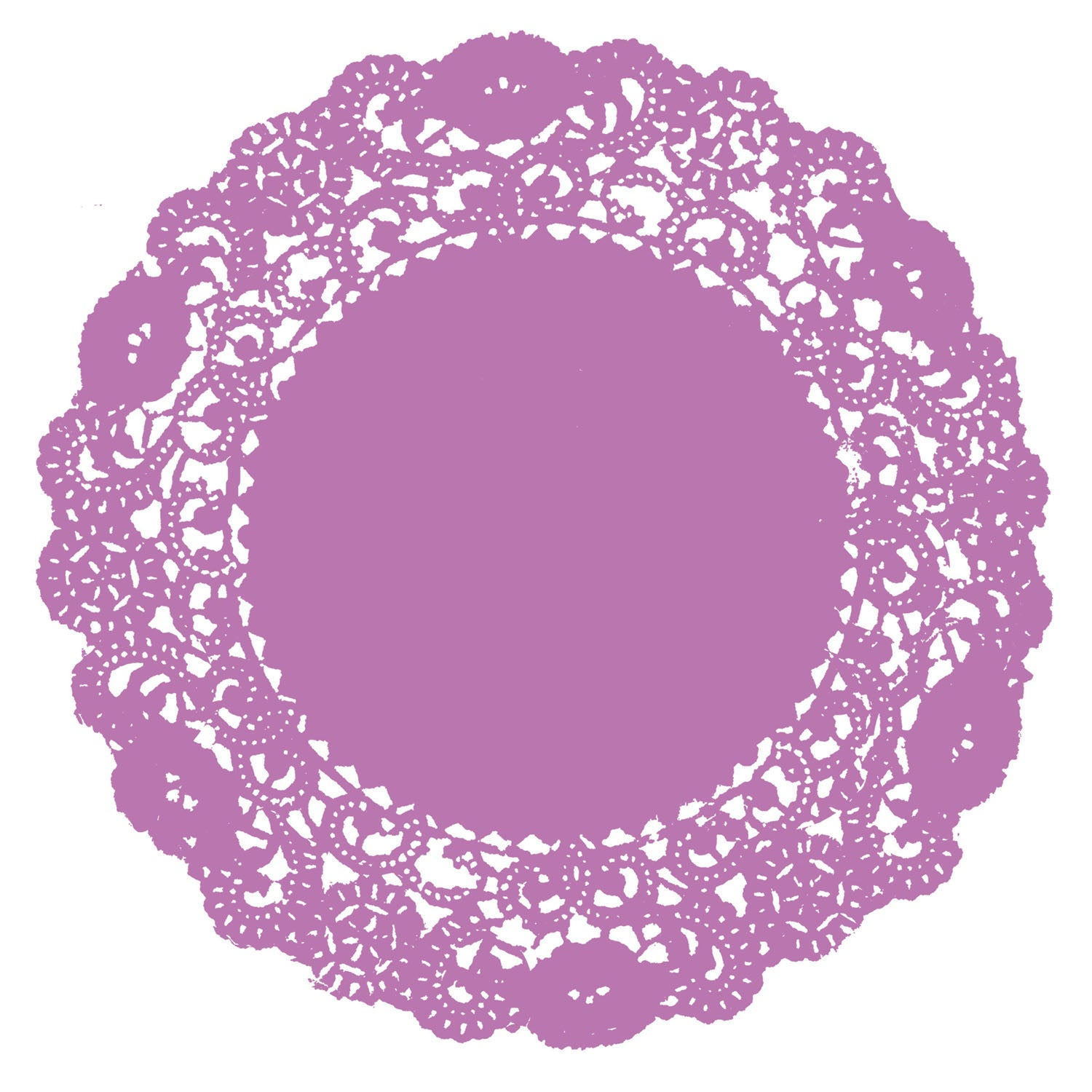 Orchid Doily