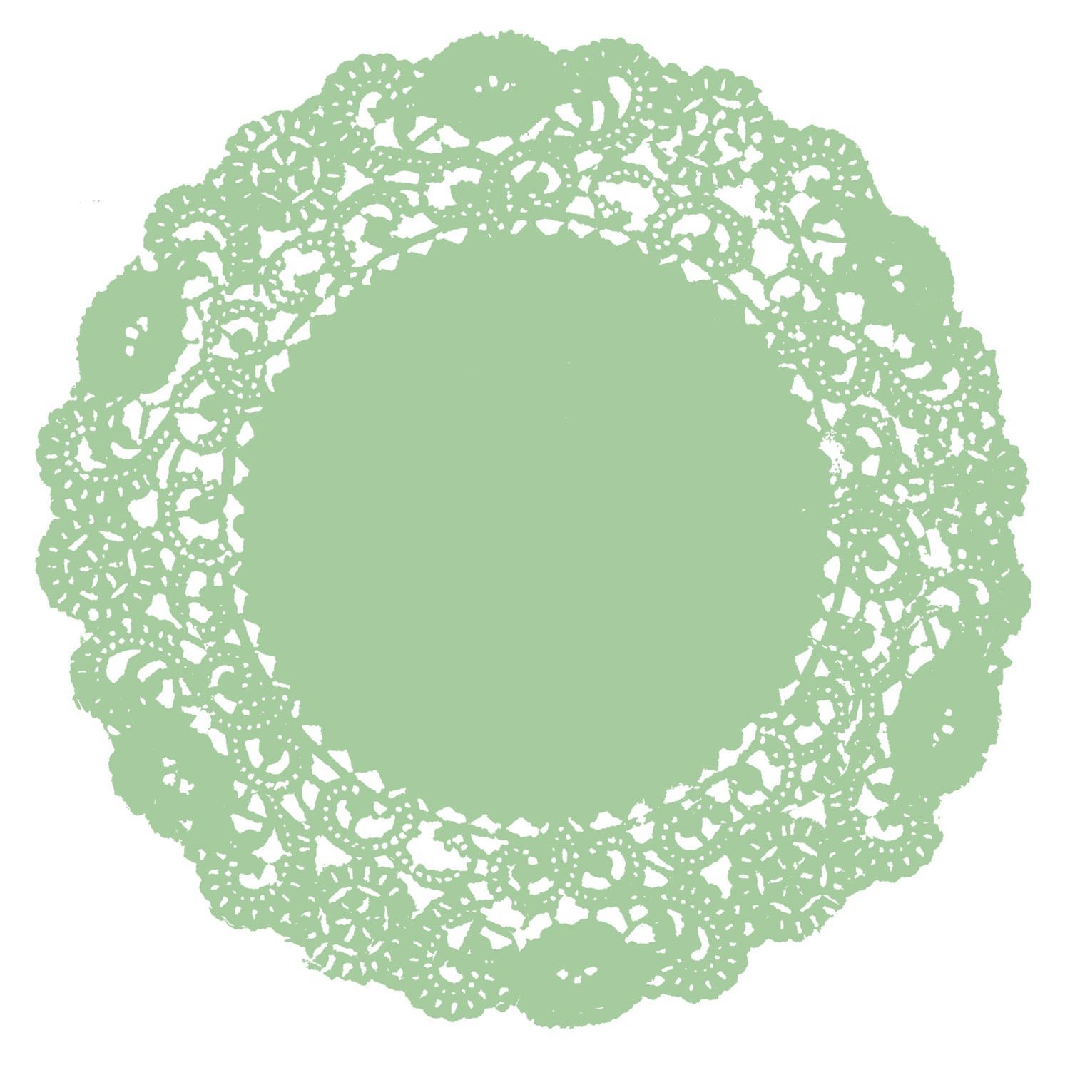 Mint Julip Doily