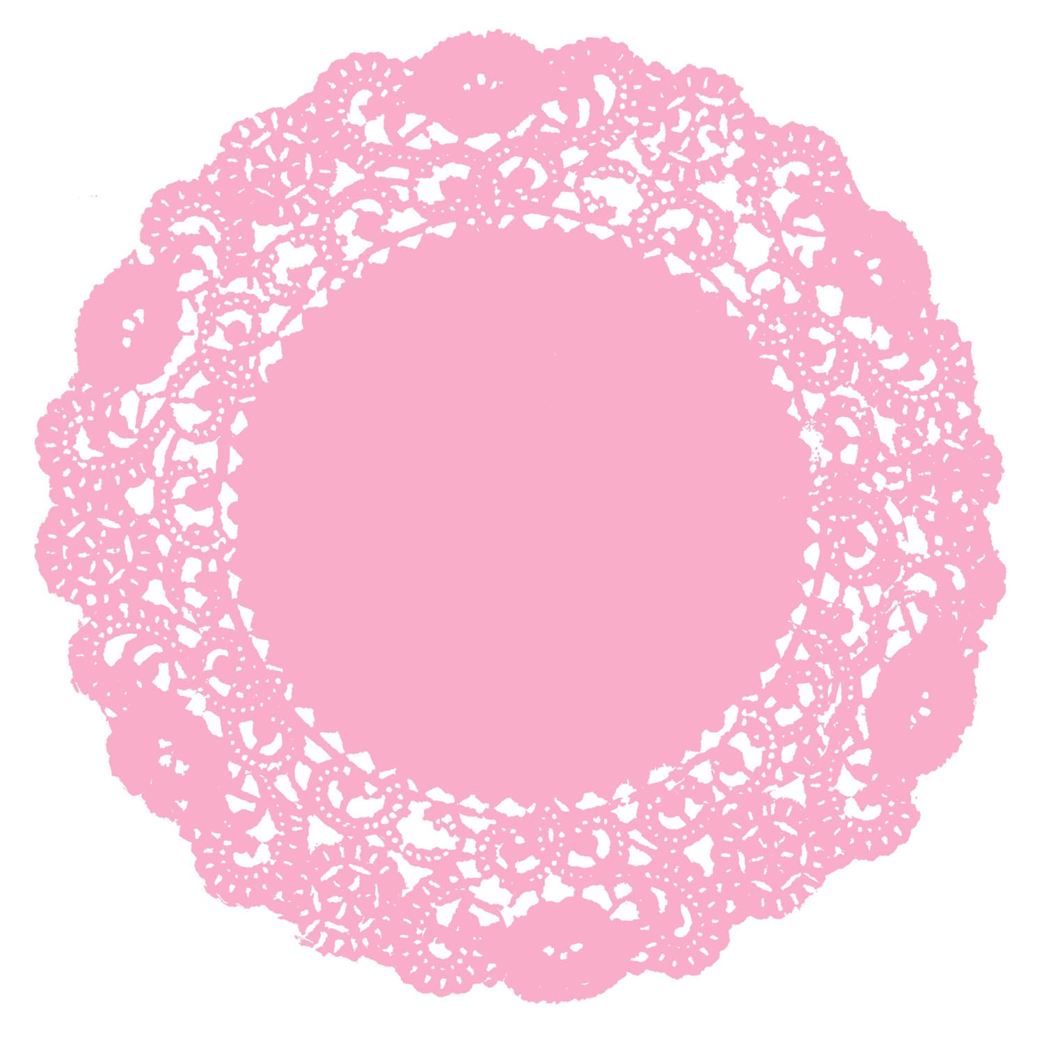 Cotton Candy Doily