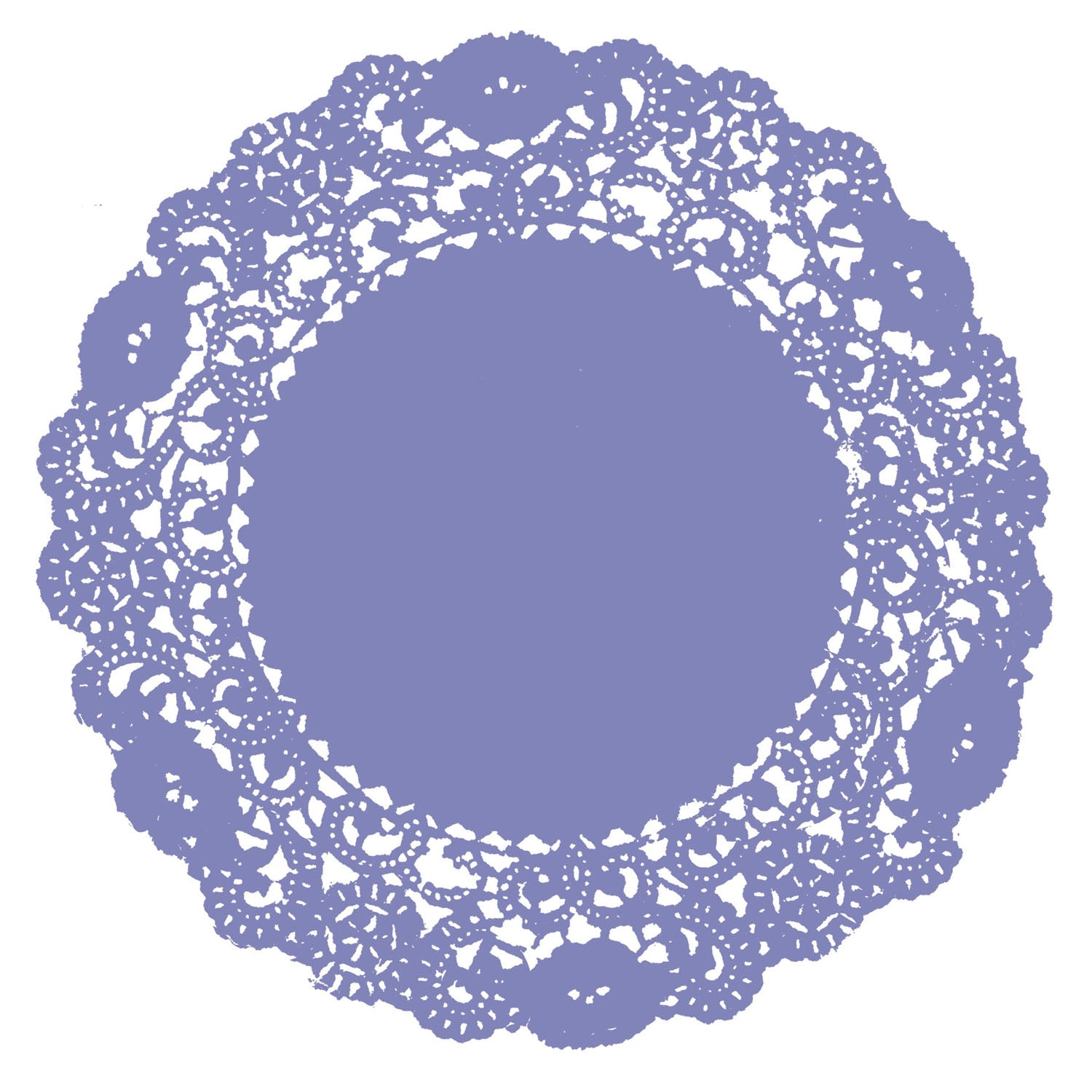 Periwinkle Doily