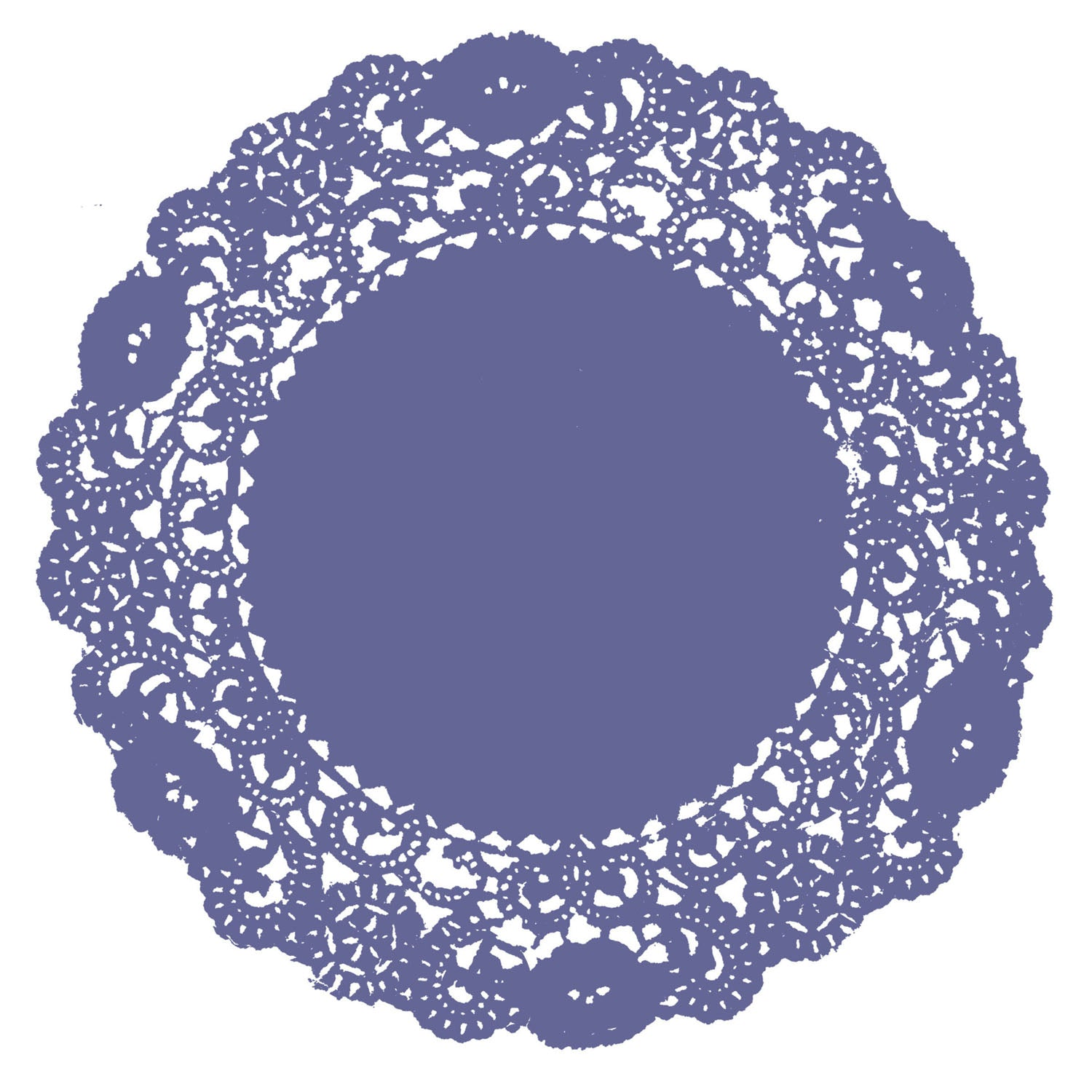 Dusted Periwinkle Doily