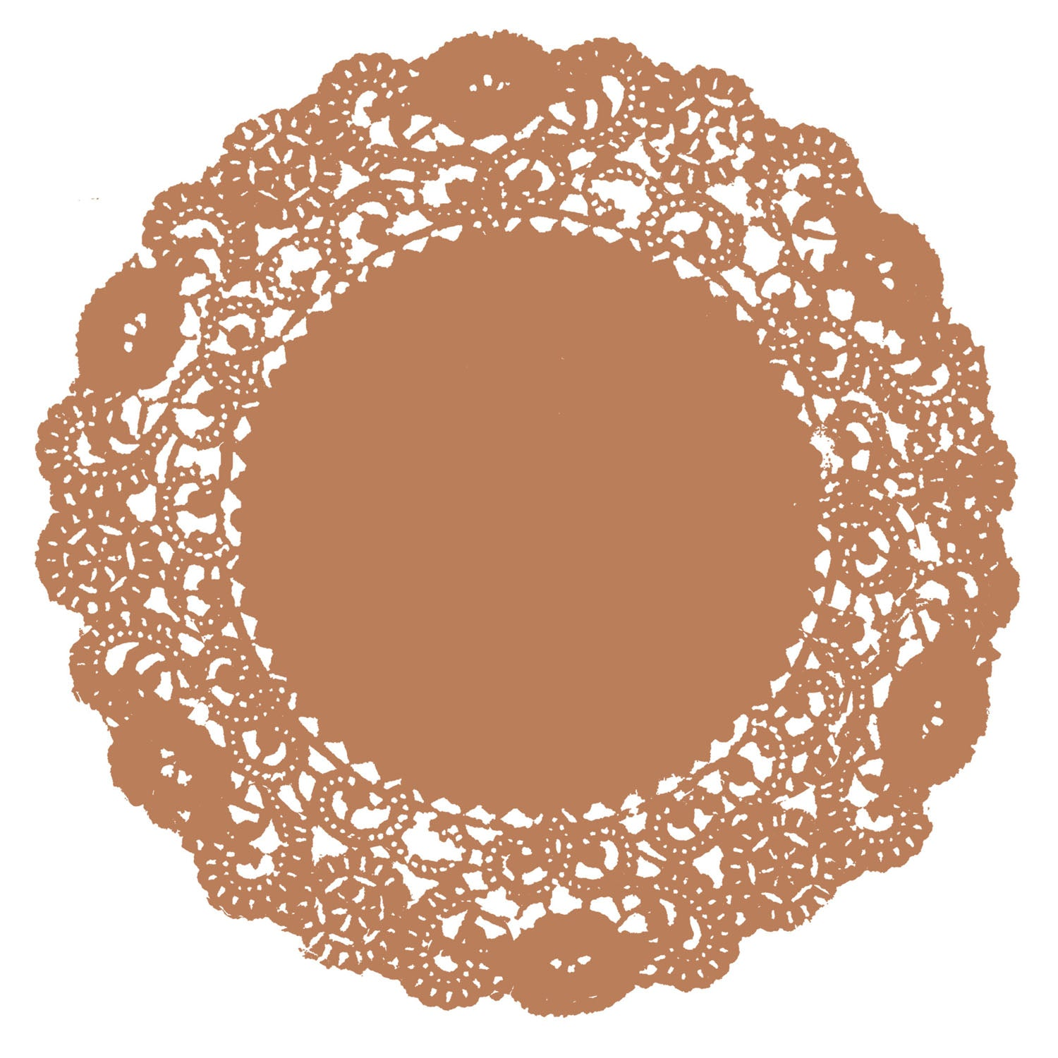 Fall Oak Leaf Doily