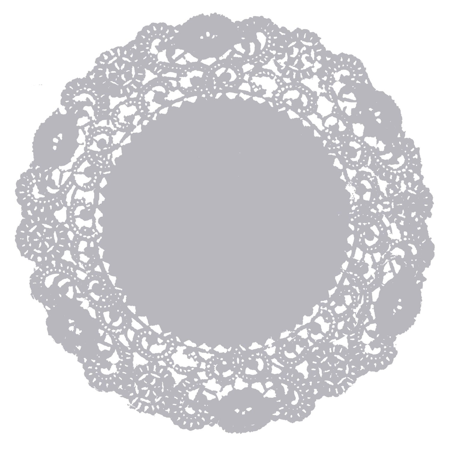 Silver Lining Doily