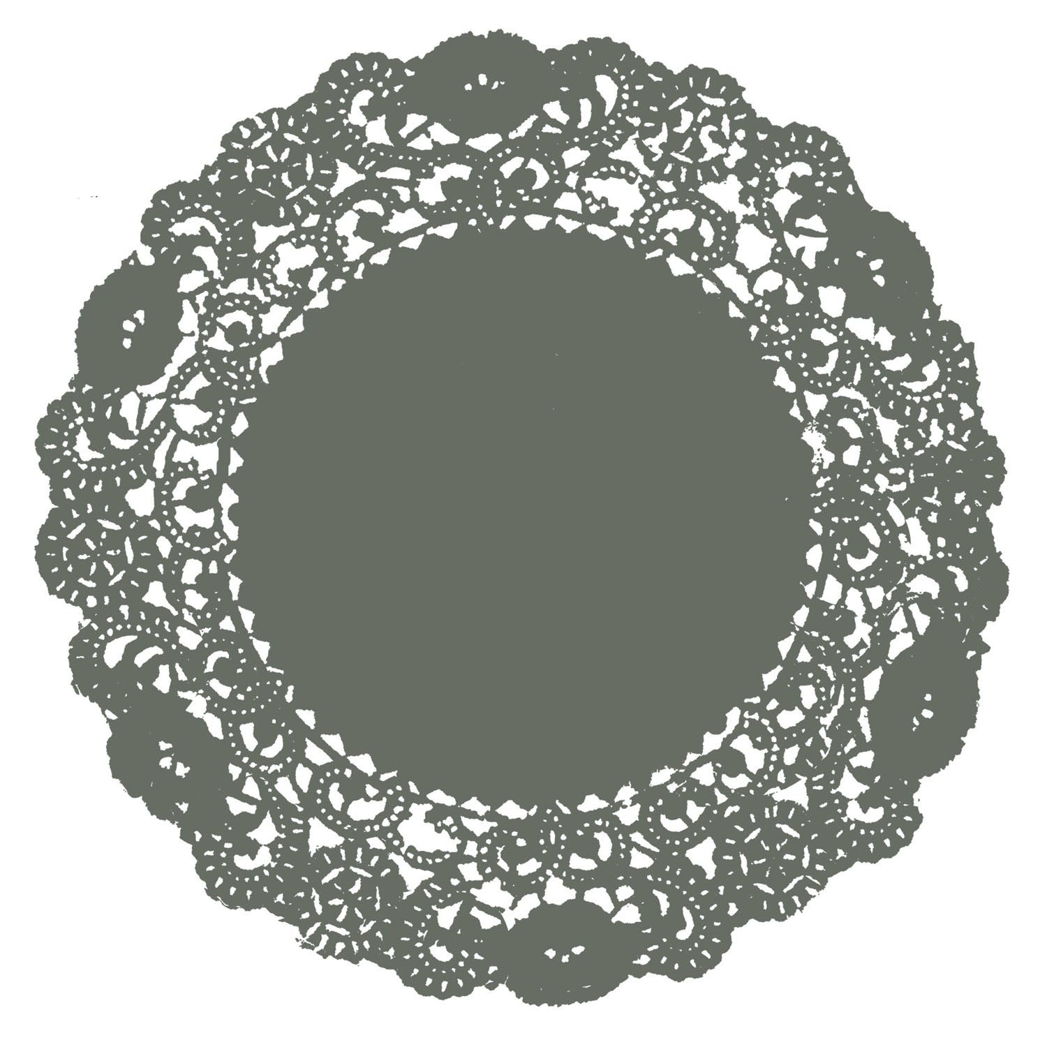 Rosemary Green Doily