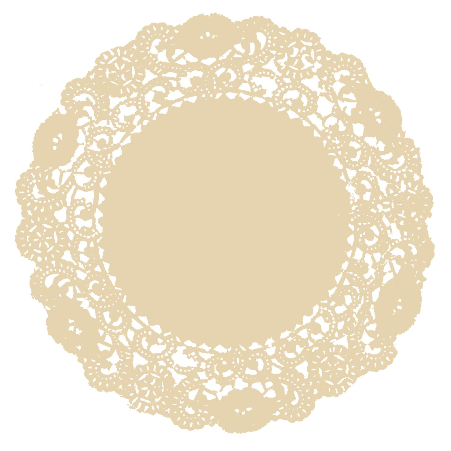 Wheat Doily