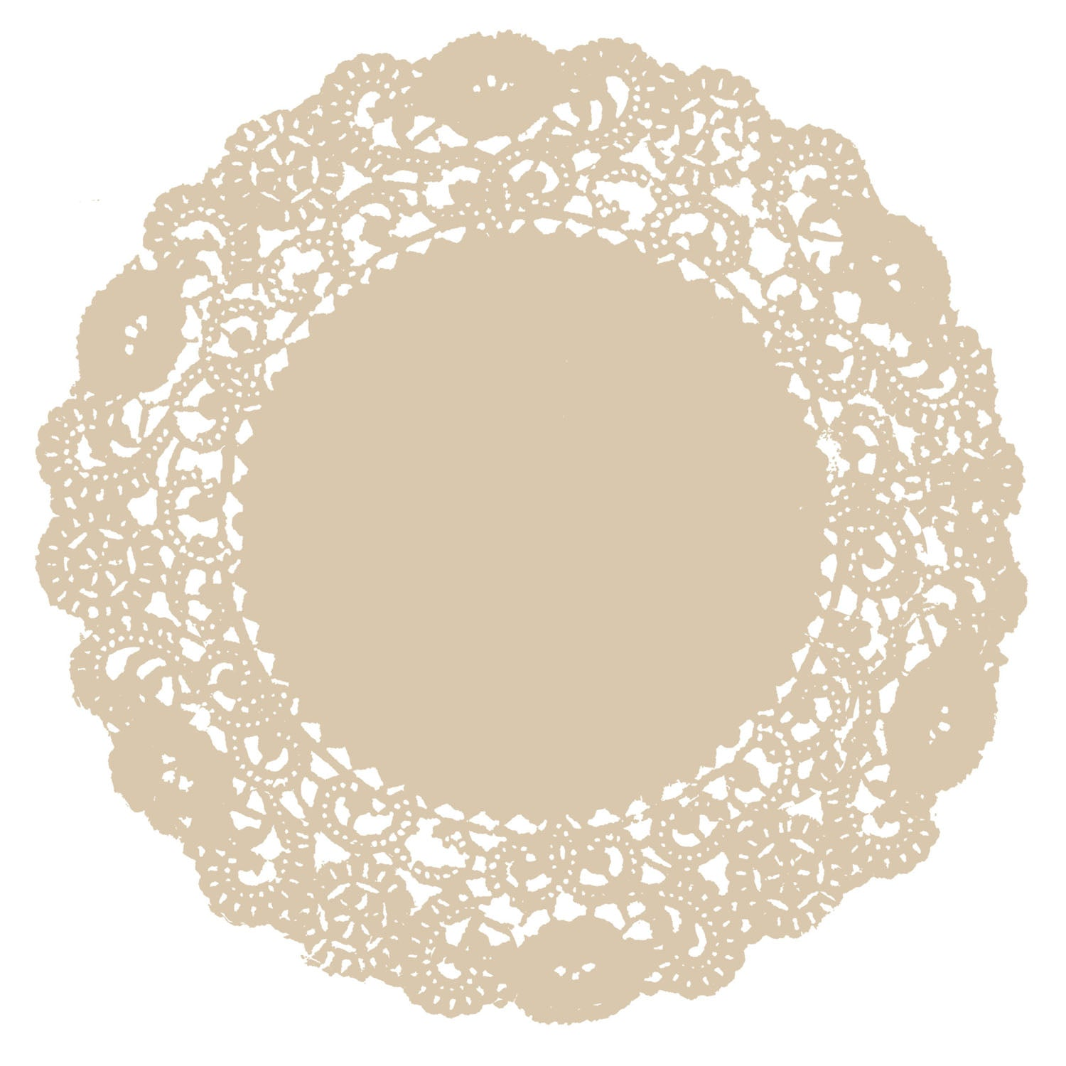 Champagne Doily