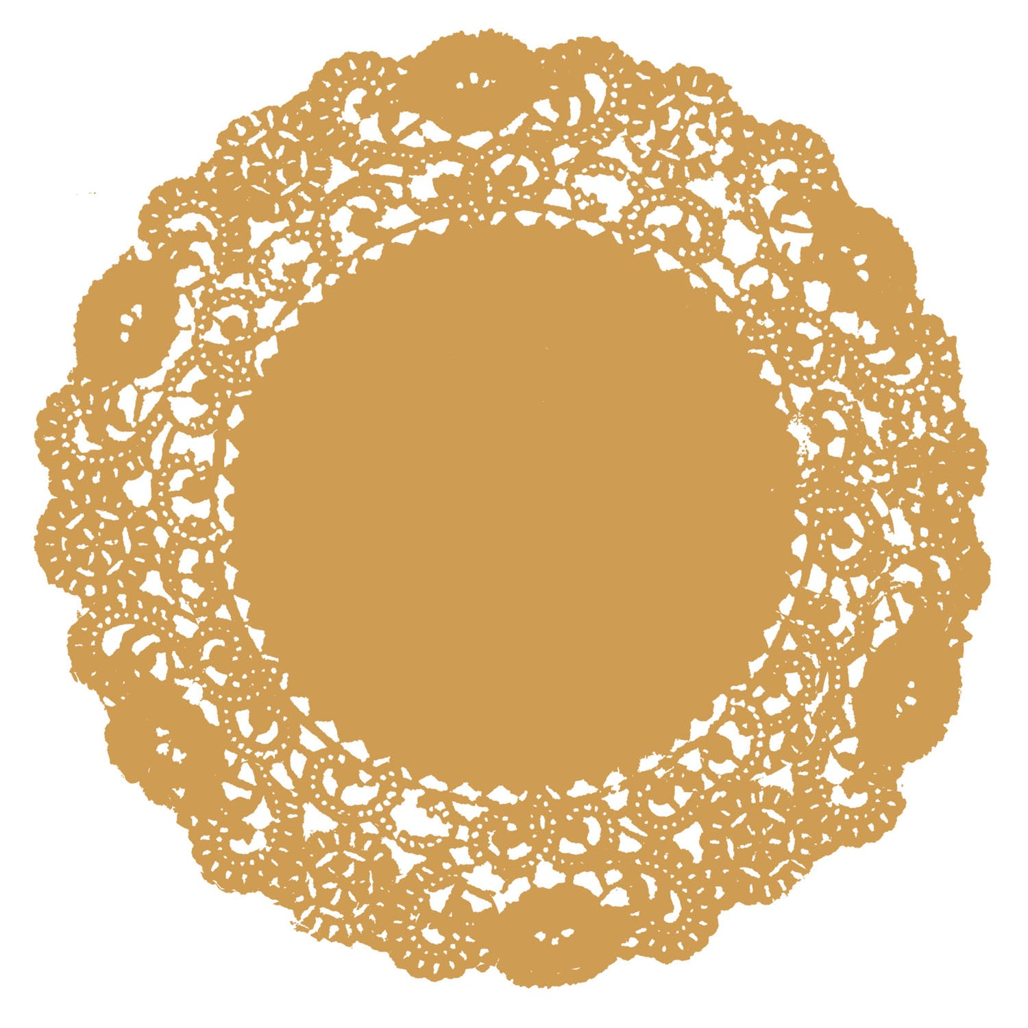 Honey Gold Doily