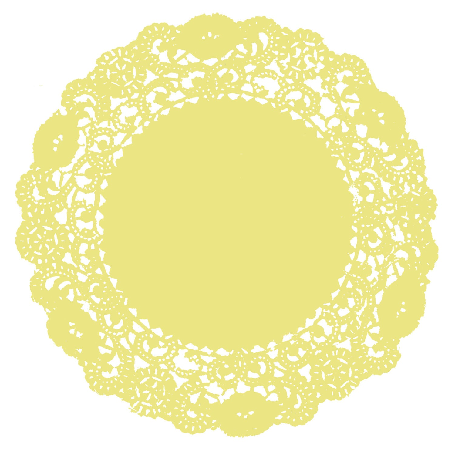 Lemon Drop Doily